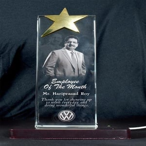 Personalized 3D Crystal Corporate Gifts