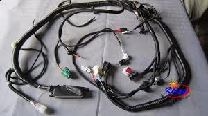Black Color Electronic Wire Harness