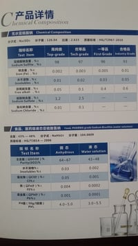 Sodium Sulfite Anhydrous 7757-83-7