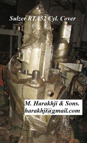 Sulzer Rta 52 Cylinder Cover