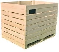 Wooden Bins For Cold Storage