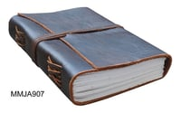 Handmade Leather Journal With Leather Cord