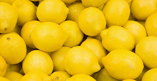 Fresh Juicy Yellow Lemon