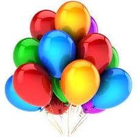 Multi Color Toy Balloons