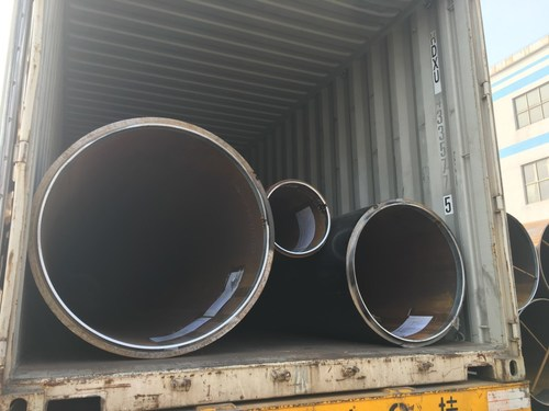 EN10219 LSAW Welded Carbon Steel Pipe