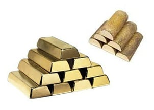 Brass Ingots In Brick Form With Copper Based Alloys