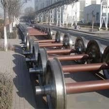Precisely Made Railway Axles