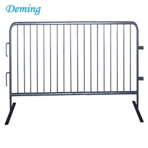Robust Crowd Control Barrier