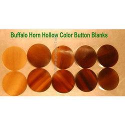 Horn Button Blanks
