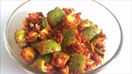 Spicy Green Mango Pickles