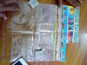 Printed Plastic Toy Carry Bag