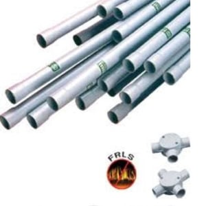 Pvc Panel Pipes For Both Water And Electric Wires