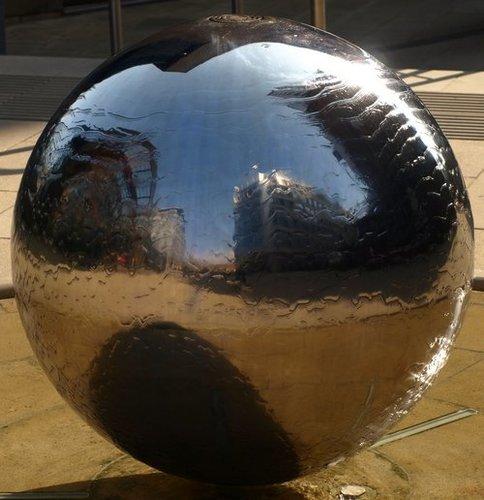 Mirror Polished Brass Hollow Balls