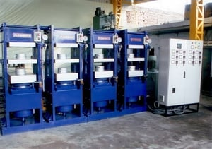 Industrial Hydraulic Rubber Moulding Press