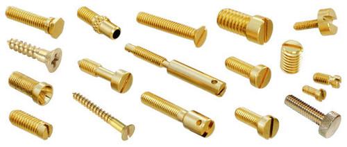 Brass Round Head Screws