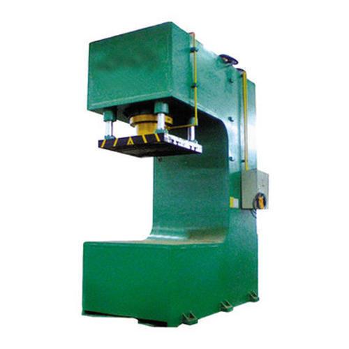C Frame Hydraulic Semi Automatic Press Machine