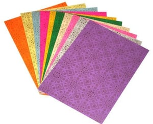 Handmade Craft Papers With Customized Styles