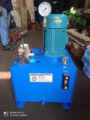 Semi Automatic Hydraulic Power Packs