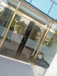 Brass Frame Glass Door