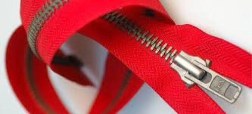 Red Color Nylon Zippers
