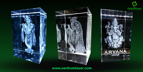 3d Crystal Religious Craft Gift