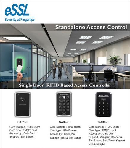 Single Door RFID Based Access Controller - ISS TECHNOLAB