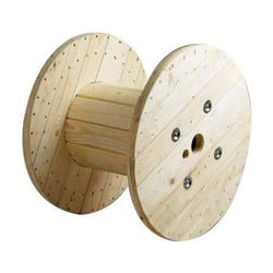 Wooden Cable Drum And Reel