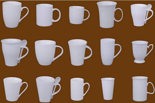 Customized White Coffee Cups