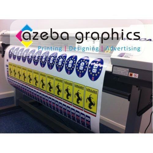 Vinyl Sticker Printing Services In Santosh Nagar