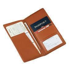 Pure Leather Passport Holder