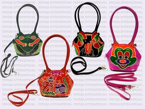 Hand Crafted Painted Leather Handbags