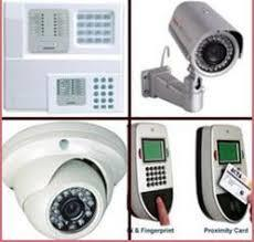 Electronic Security Camera System