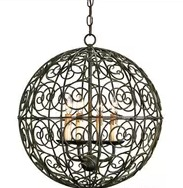 Decorative Spherical Pendant Lamp