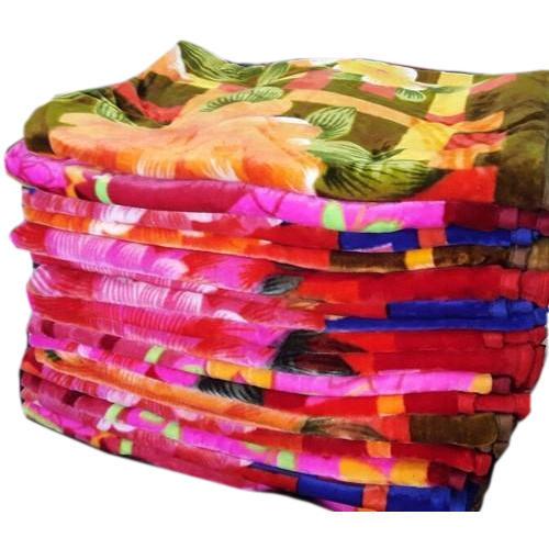 Comfortable Multicolor Mink Blanket