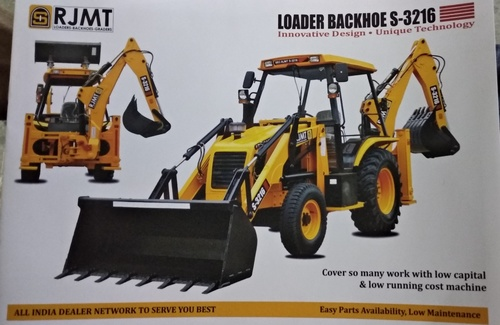 High Performance RJMT Backhoe Loader
