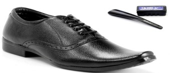 BXXY Black Oxford Lace Up Shoes