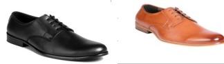 Derby Style Mens Office Wear Shoes