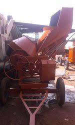 Hydraulic Concrete Mixer For Construction Site