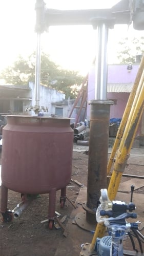 Hydraulic System Paint Mixing Tank