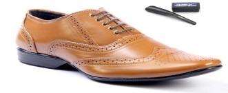 Mens Brown Color Formal Shoes