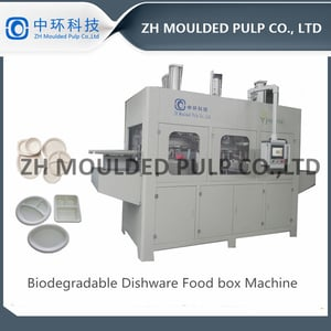 Biodegradable Food Container Plates Making Machine