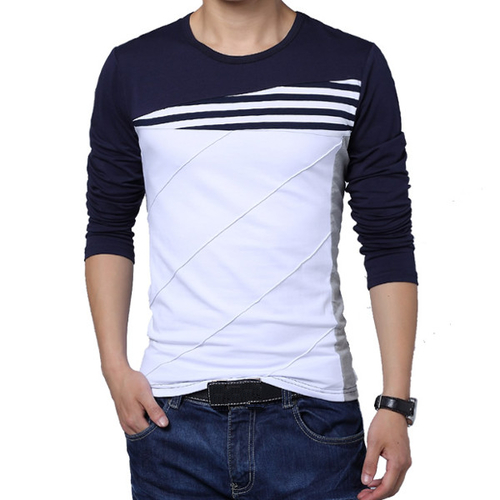 Full Sleeves Mens Casual T-shirts