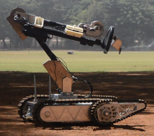 Varaha UGV Material Handling Arm Robot