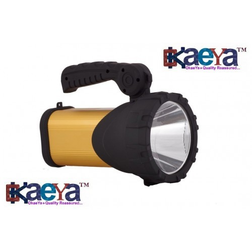 Okaeya Laser Led Rechargeable Torch