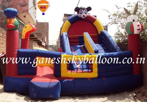 Inflatable Double Sliding Bouncy