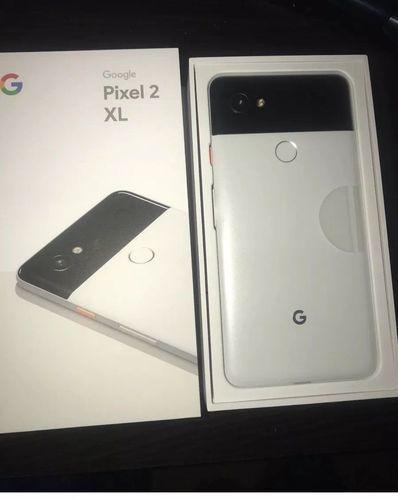 New Google Pixel 2 XL 64GB Black and White (Unlocked