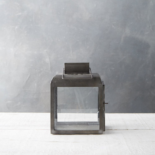 Rust Black Antique Lantern