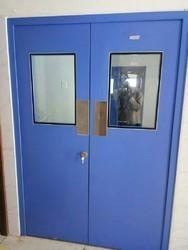 Galvanized Clean Room Door