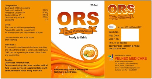 ORS [ORAL REHYDRATION]