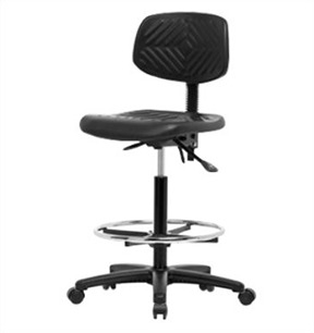 Portable And Height Adjustable Laboratory Chair